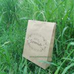 Shopping Bag Kertas Kraft Coklat Untuk Batik