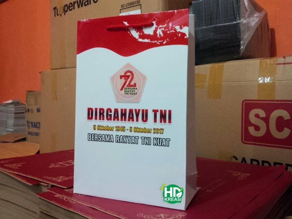 Paper Bag Souvenir HUT TNI  acd16f786a